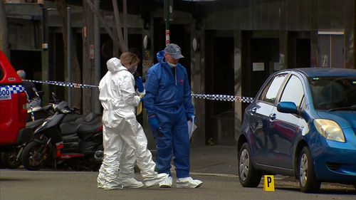 A man is on the run after a fatal stabbing in Sydney this morning.