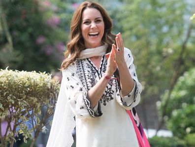 Kate Middleton visits SOS Village in Lahore, Pakistan
