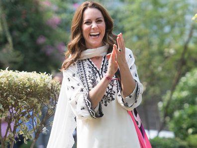Kate Middleton visits SOS Village in Lahore, Pakistan