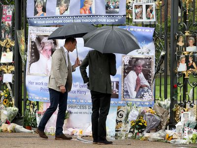 20th anniversary of Princess Diana's death, August 2017