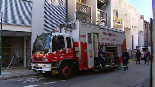 Fire crews at the scene. (9NEWS)