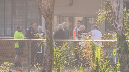 Locals and students awoke this morning to what is now being treated as a crime scene by arson investigators.