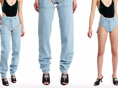 """<p>When the day starts out chilly but warms up.Ggenius really.</p> <p><a href=""""https://www.farfetch.com/au/shopping/women/y-project/items.aspx"""" target=""""_blank"""" draggable=""""false"""">Y Project Detachable Jean Shorts</a>, $563</p>"""