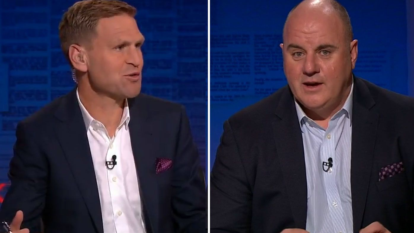 Kane Cornes goes head-to-head with Craig Hutchison over AFL interchange cap