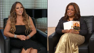 "In an interview for ""The Oprah Conversation: Mariah Carey,"" the singer talked about some of the stories she shares in her upcoming memoir, ""The Meaning of Mariah Carey,"" set for release Sept.29"