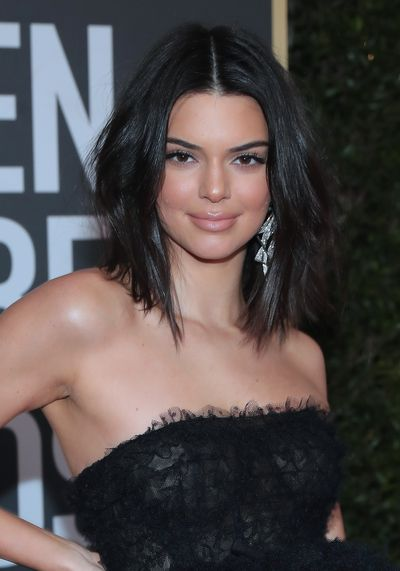 Is there nothing this girl can't do? Model Kendal Jenner showing everyone how it's done with her tousled hair and paired-back make up, we're loving the nude lip.