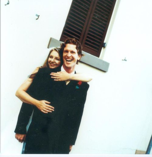 Young and in love, Lea and Chris before they were married and started on their pregnancy journey.