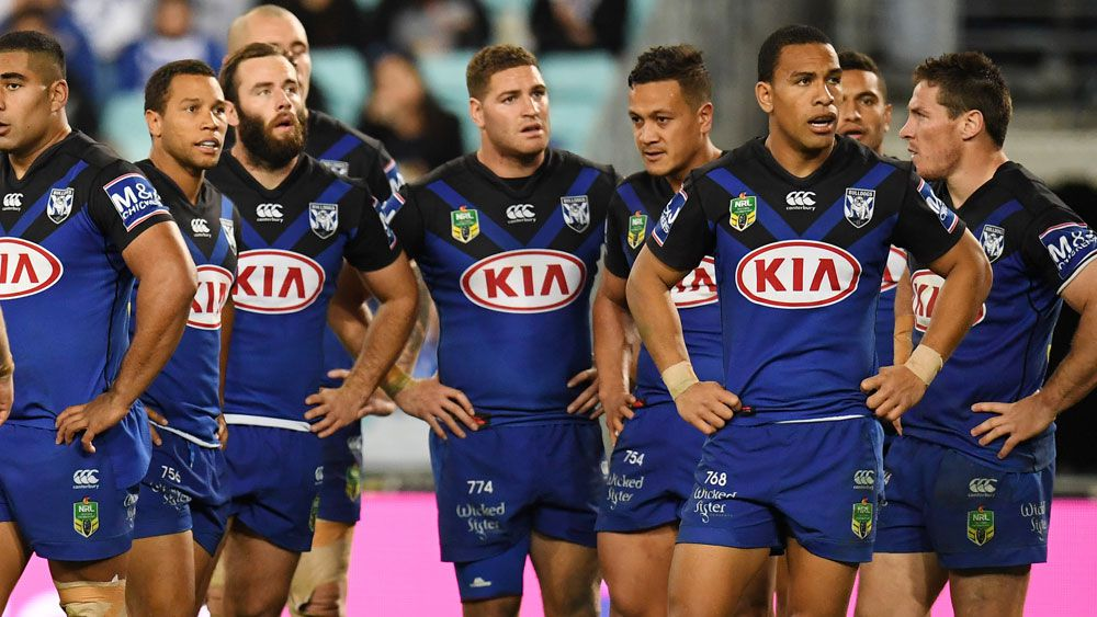 The Bulldogs are leading the charge for a $9.6m salary cap for 2018. (AAP)
