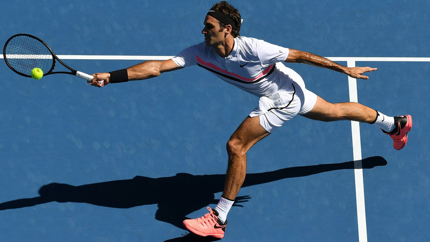 Federer continues to set new marks