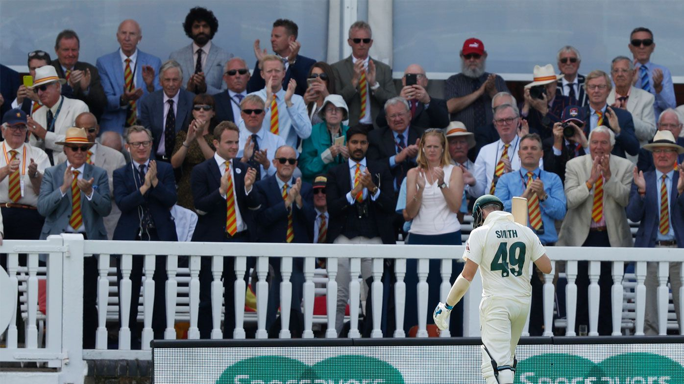 Ex-Test greats slam Lord's fans after Steve Smith injury