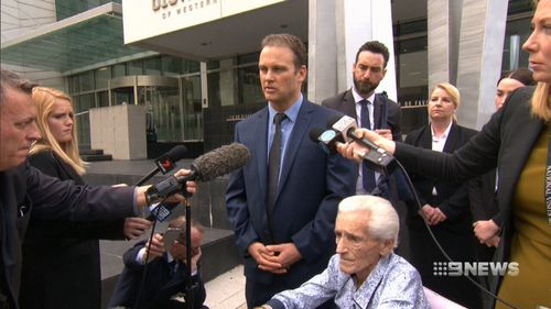Mr Bradshaw is the first person to claim damages under laws that recently came into effect in WA removing the time limit for compensation in such cases.