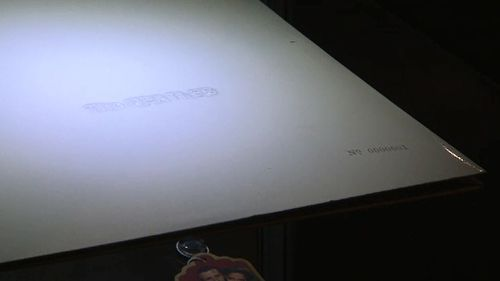 The first copy of the White Album will also go under the hammer. (9NEWS)