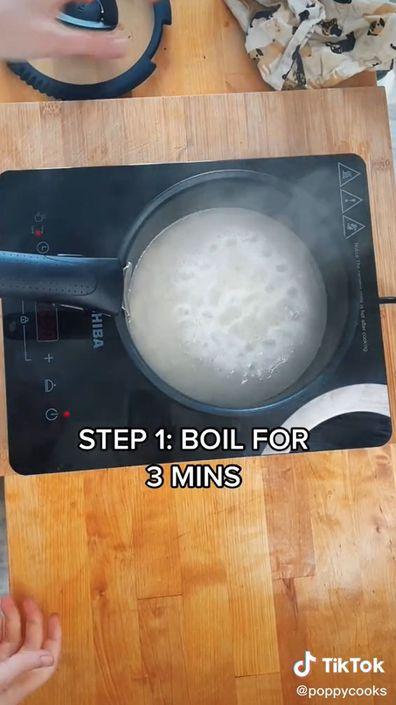 TikTok, chef, cooking hack, rice, Poppy O'Toole
