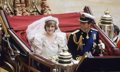 Charles and Diana were married at St. Paul's Cathedral July 29, 1981.
