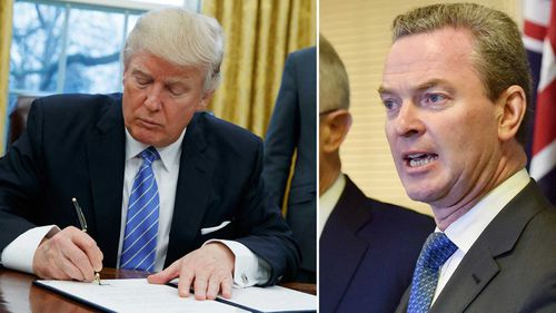 US 'wrong' to ditch TPP, Pyne says