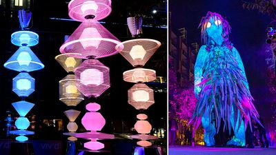 Incredible moments as Sydney lights up for Vivid 2018