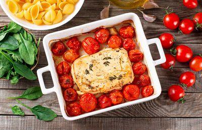 4. Feta pasta — 1.05 billion views