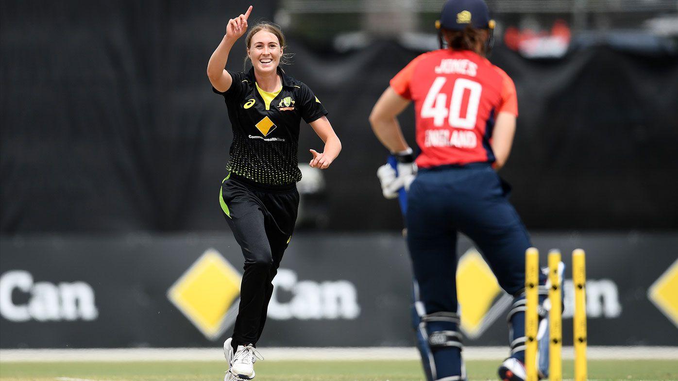 Australia women advance to T20 tri-series final