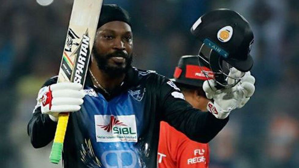 Gayle touted for BBL after record knock