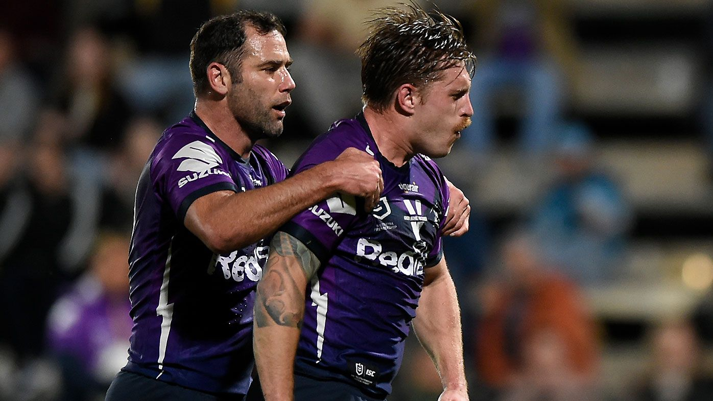 Cameron Munster stars in return from injury as Melbourne Storm put error-stricken Titans to the sword