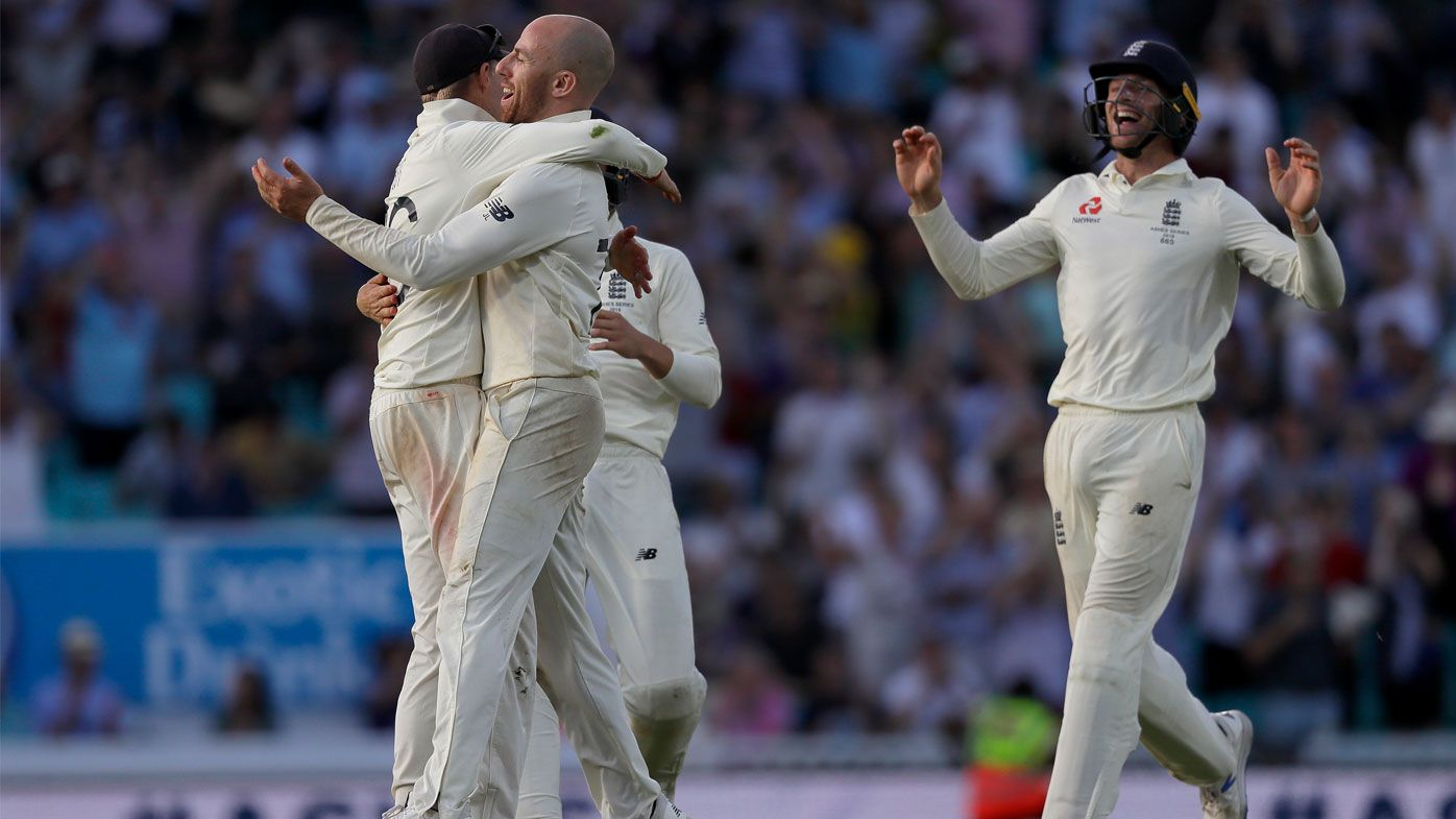 England win the fifth and final Test at The Oval.