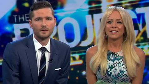 Watch: Charlie Pickering brings Carrie Bickmore to tears for his final farewell to The Project