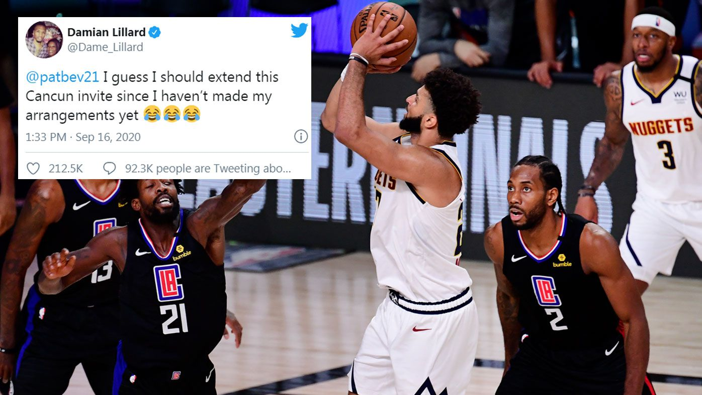 Damian Lillard gets last laugh over LA Clippers.