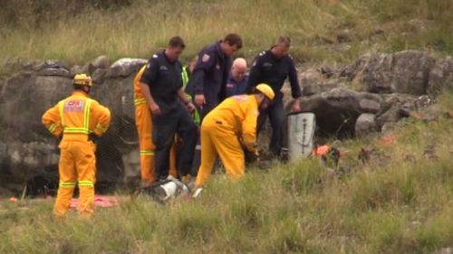 Emergency services were called to an address in Buchan just after 12.30am. (9NEWS)