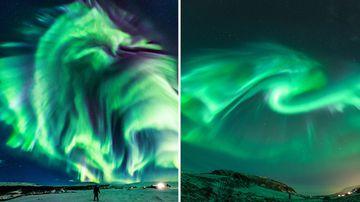 NASA photography Northern Lights Astronomy