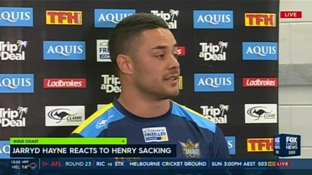 Hayne accuses Henry of trial by media