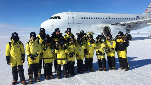 Twelve lucky kids between the ages of 10 and 14 took part in the trip. (9NEWS)