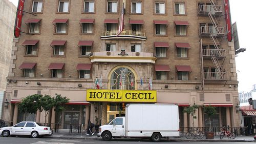 """Hotel Cecil was reportedly a place where serial killers went """"to let their hair down""""."""