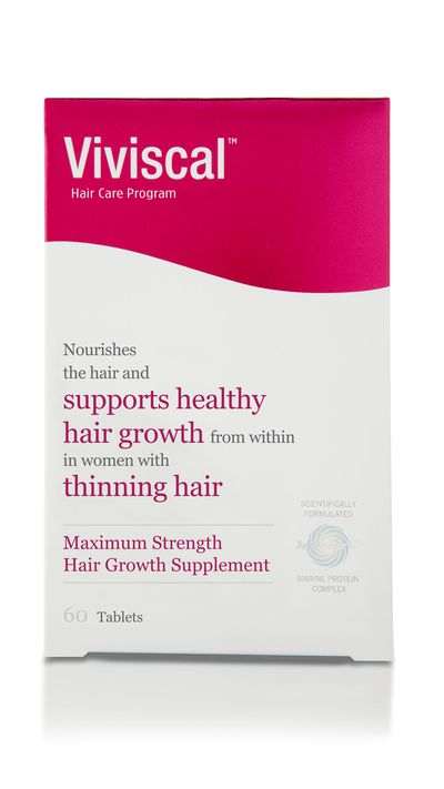 """For thicker locks try: <a href=""""http://www.viviscal.com.au/"""" target=""""_blank"""">Maximum Strength Dietary Hair Growth Supplements, $69.95 (one month supply), Viviscal</a>"""