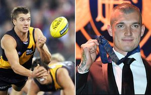 Brownlow Medal winner Dustin Martin's chequered rise to the top