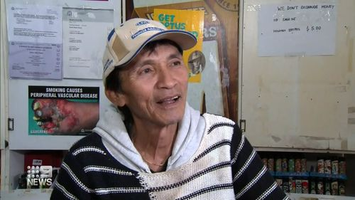 Pham Vin Dinh, a former Vietnam soldier, insists the ordeal has left him unfazed.