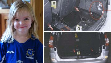 Madeleine McCann, and the family hire car searched by Portuguese police.
