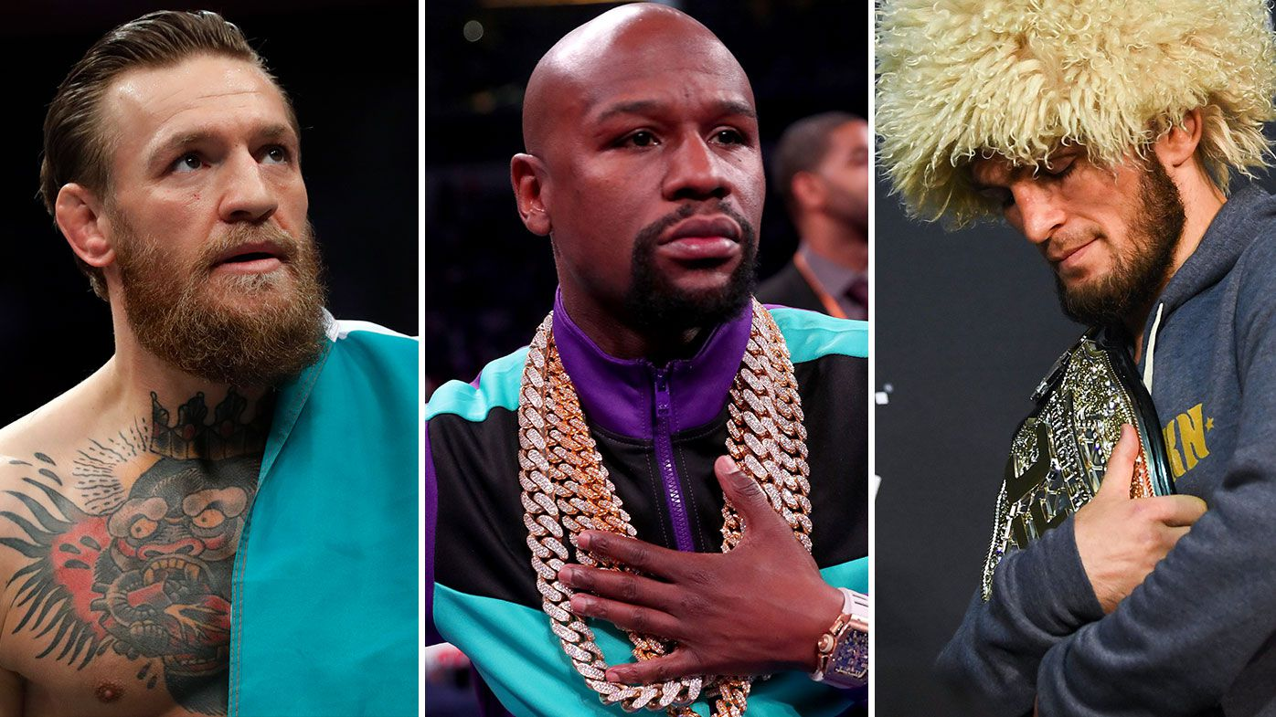 Floyd Mayweather in talks with UFC boss over unprecedented back-to-back Khabib-McGregor fights