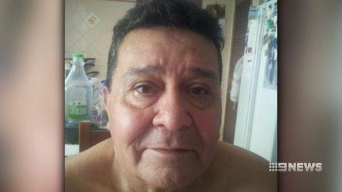 Hugh Alaniz was killed in the blaze. Picture: 9NEWS
