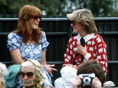 Princess Diana and Sarah, Duchess of York