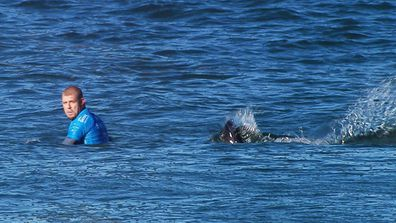 Mick Fanning's incredible shark escape immortalised in photos and memes (Gallery)