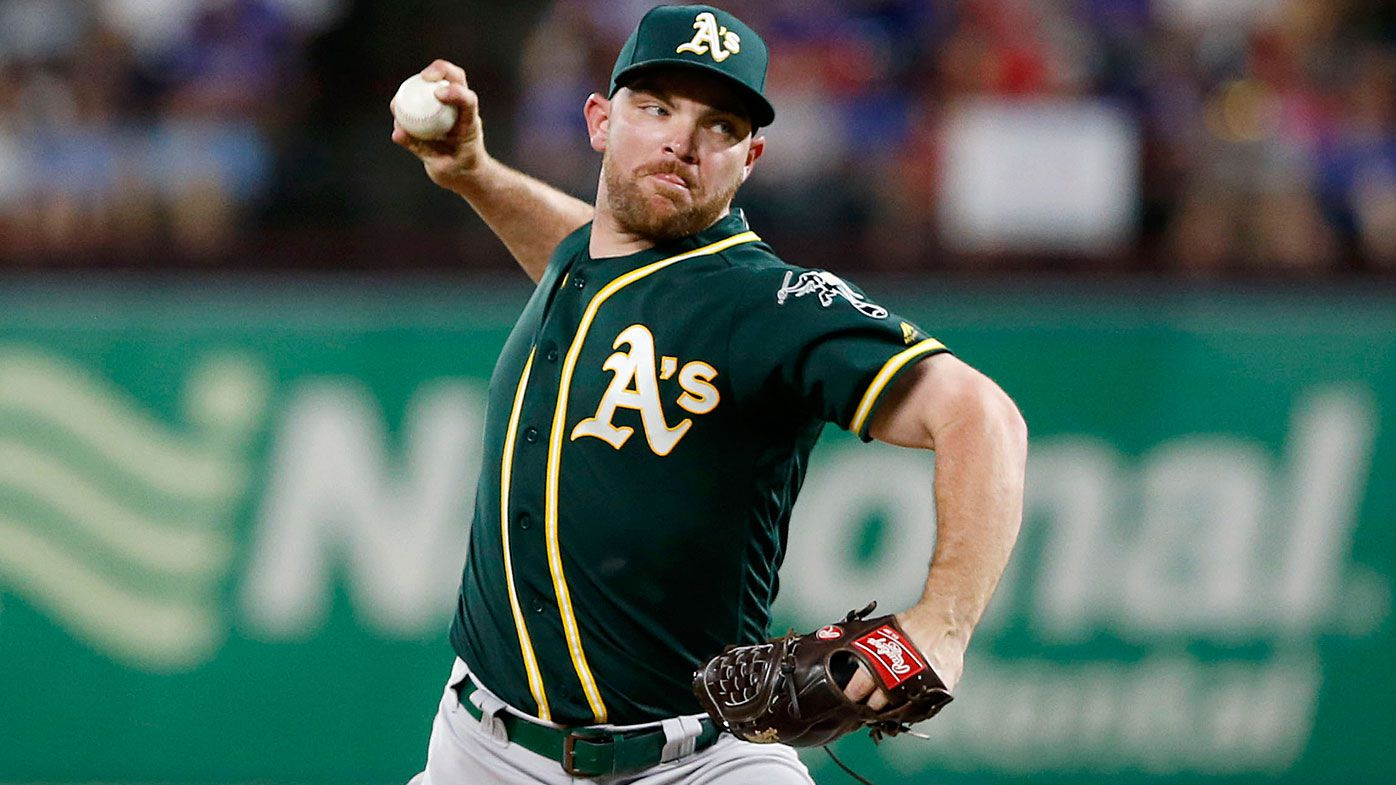 Liam Hendriks, pitcher for the Oakland A's