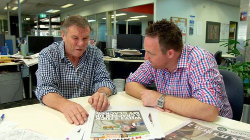 The editor Matt Williams and his team up there in the land of mango madness are talented journalists who could undoubtedly make it in any newsroom anywhere in Australia. (9NEWS)