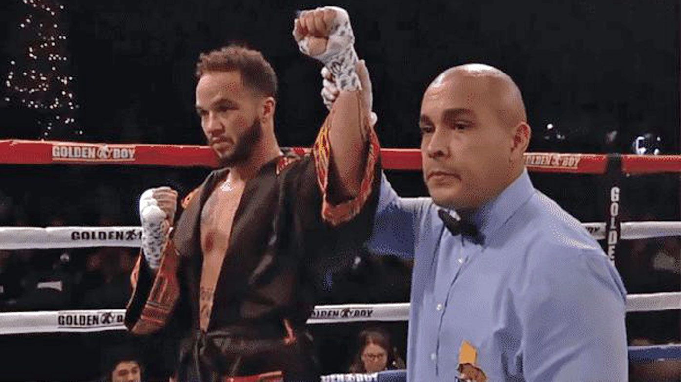 Transgender male boxer Patricio Manuel makes US sporting history in first professional bout