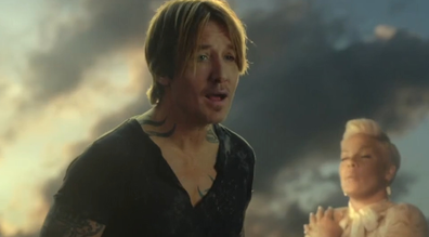 Keith Urban and Pink collaborated on the track during COVID.
