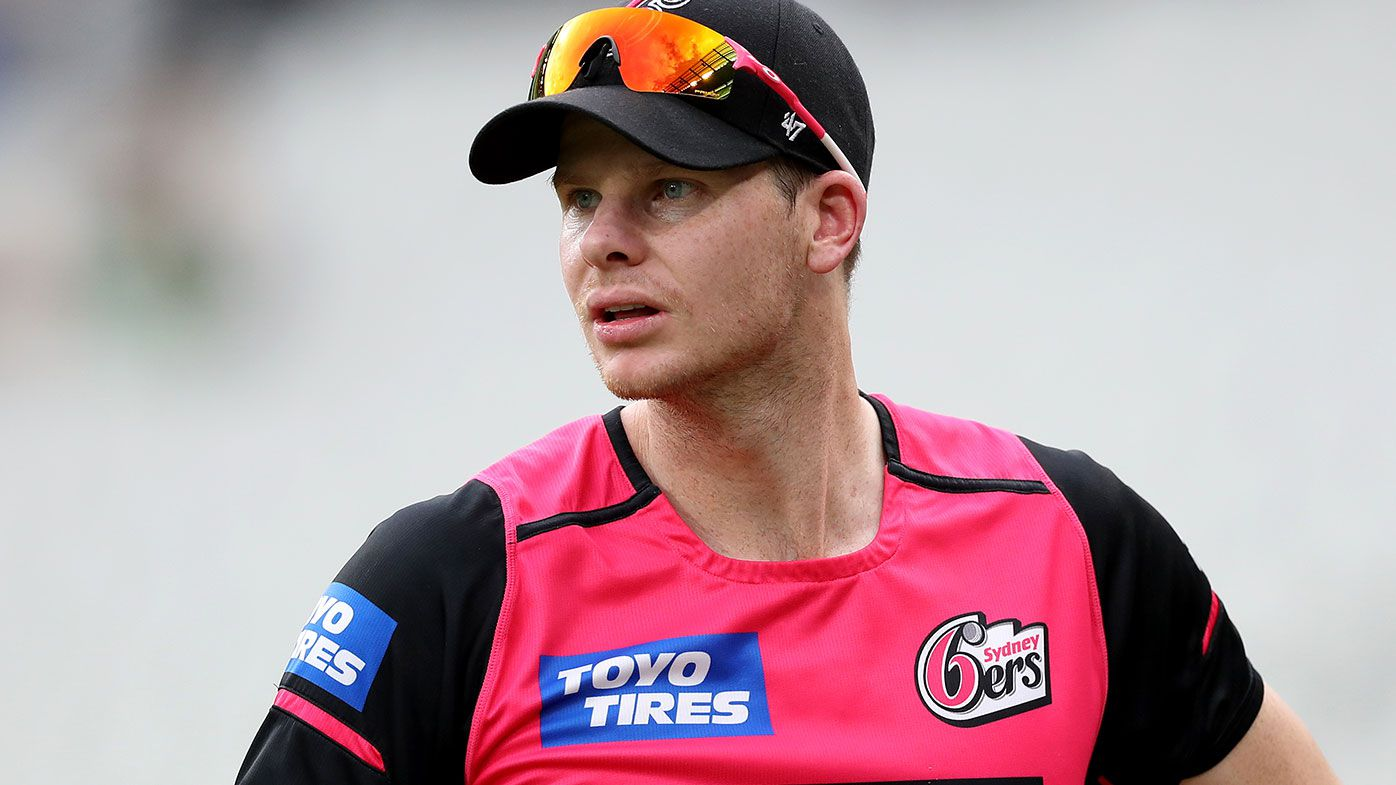 Steve Smith with the Sydney Sixers