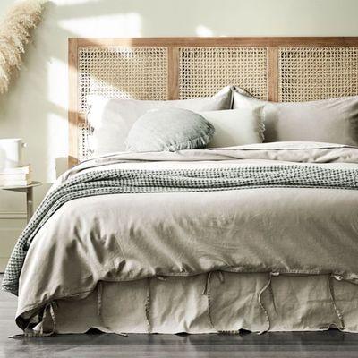Maison Vintage Quilt Cover (Natural) — Aura Home