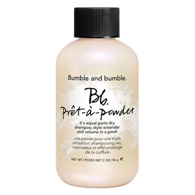 "<a href=""http://mecca.com.au/bumble-and-bumble/pret-a-powder/V-017880.html"" target=""_blank"">Bumble and Bumble Prêt-à-Powder, $39.</a>"