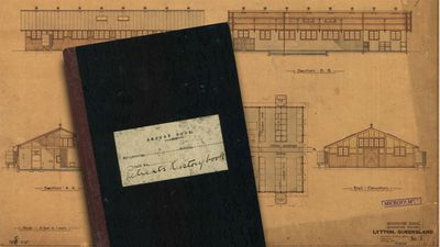 Quarantine patient book and plans.