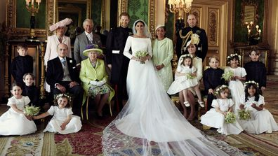 Official royal wedding 2018 group photo
