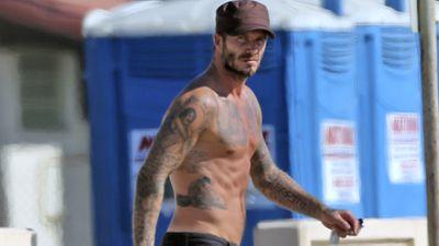 David Beckham, 40